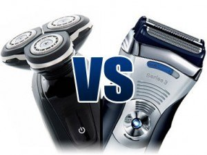 vibrerend vs roterend scheerapparaat voor & nadelen