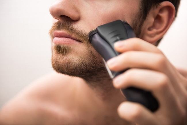Droge scheerapparaten kunnen lastig zijn voor gevoelige huid