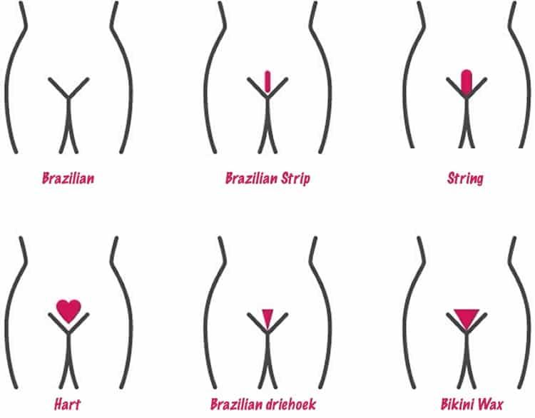 Bikinilijn Ontharen methodes