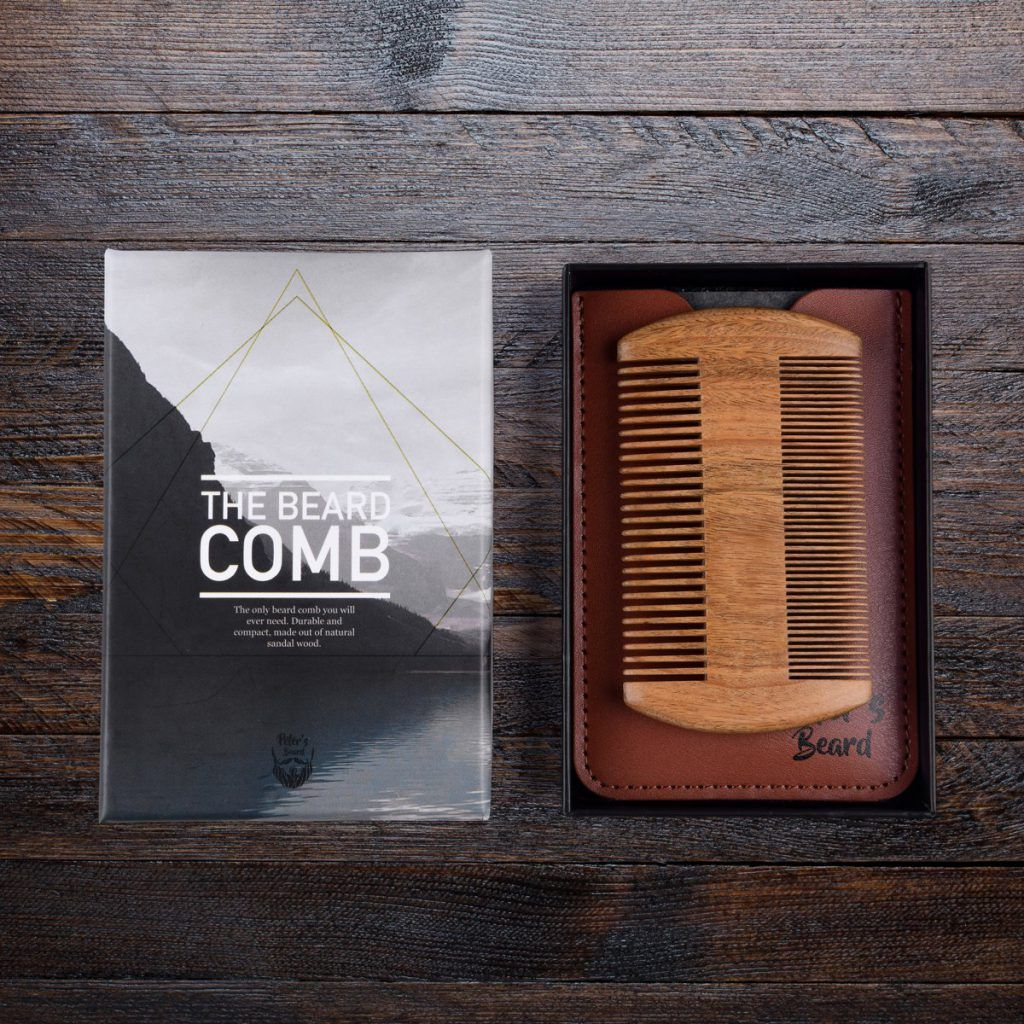 the beard comb baardkam premium