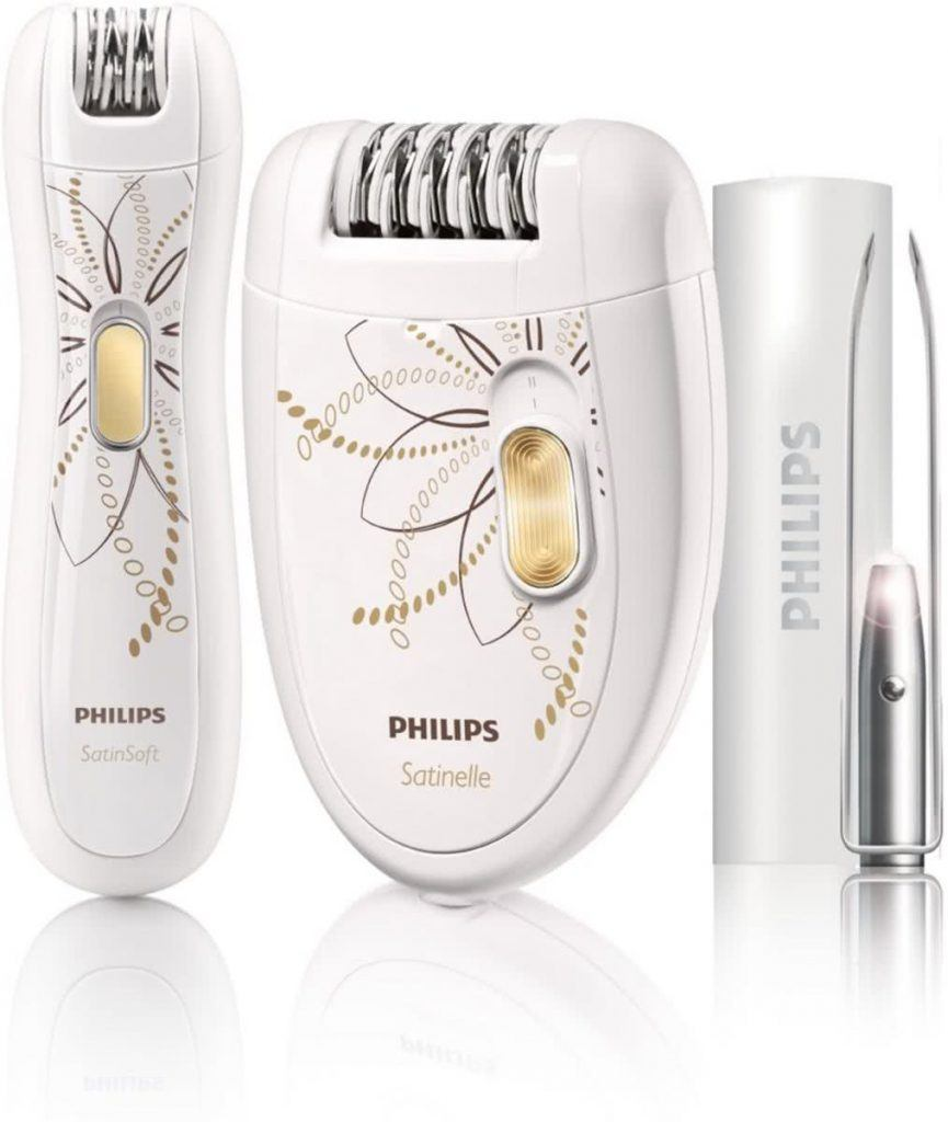 beste gezichtsepilator review scheren epileren philips satinelle hp6540-00