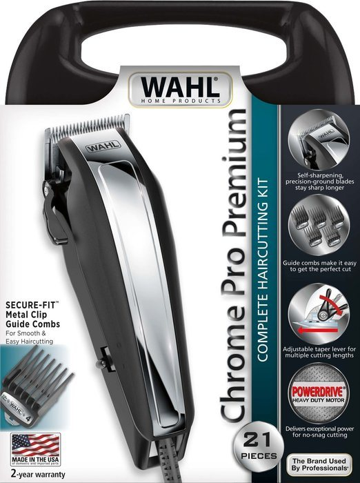 tondeuse wahl chrome pro review