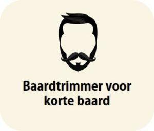 trimmer voor korte baard