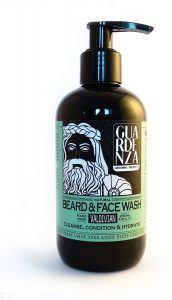 reinigen gezicht baard