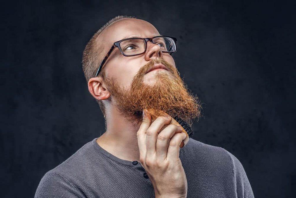 baard borstelen voor groei