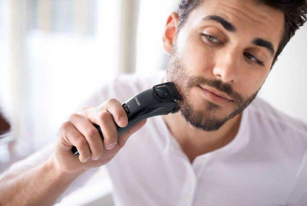 hoe je baard trimmen met een baardtrimmer