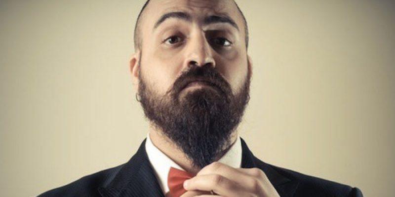 vies gezicht vrouw baard