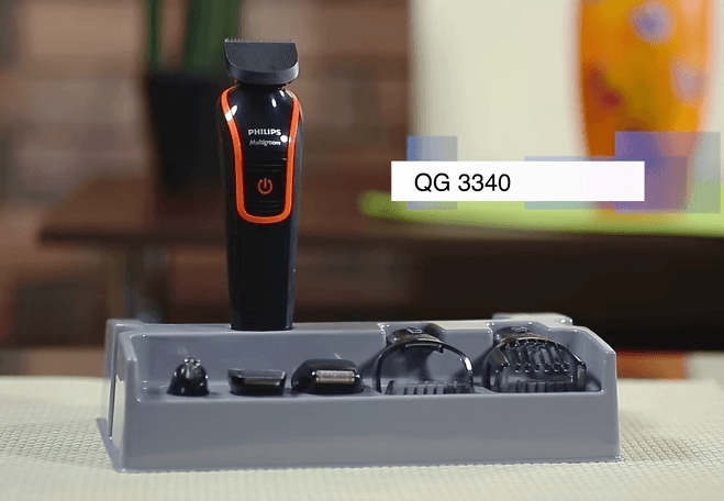 Philips QG3340 review scheerapparaat wall
