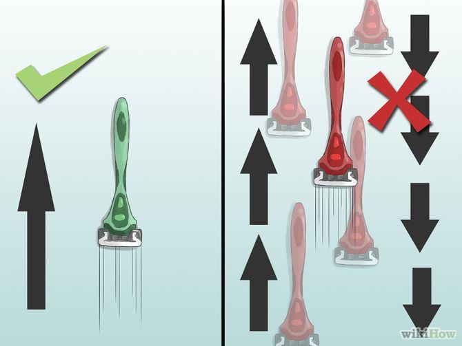 hoe je schaamhaar scheren stap 6