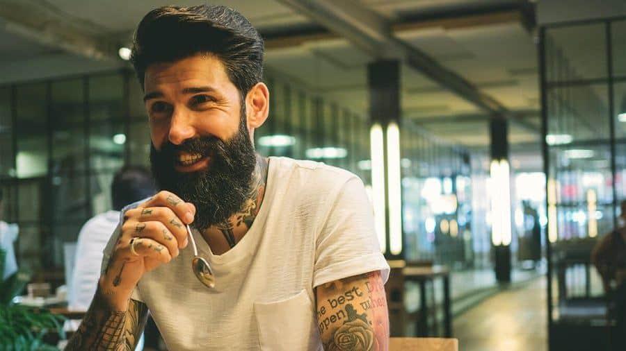 Gezonde baard laten groeien