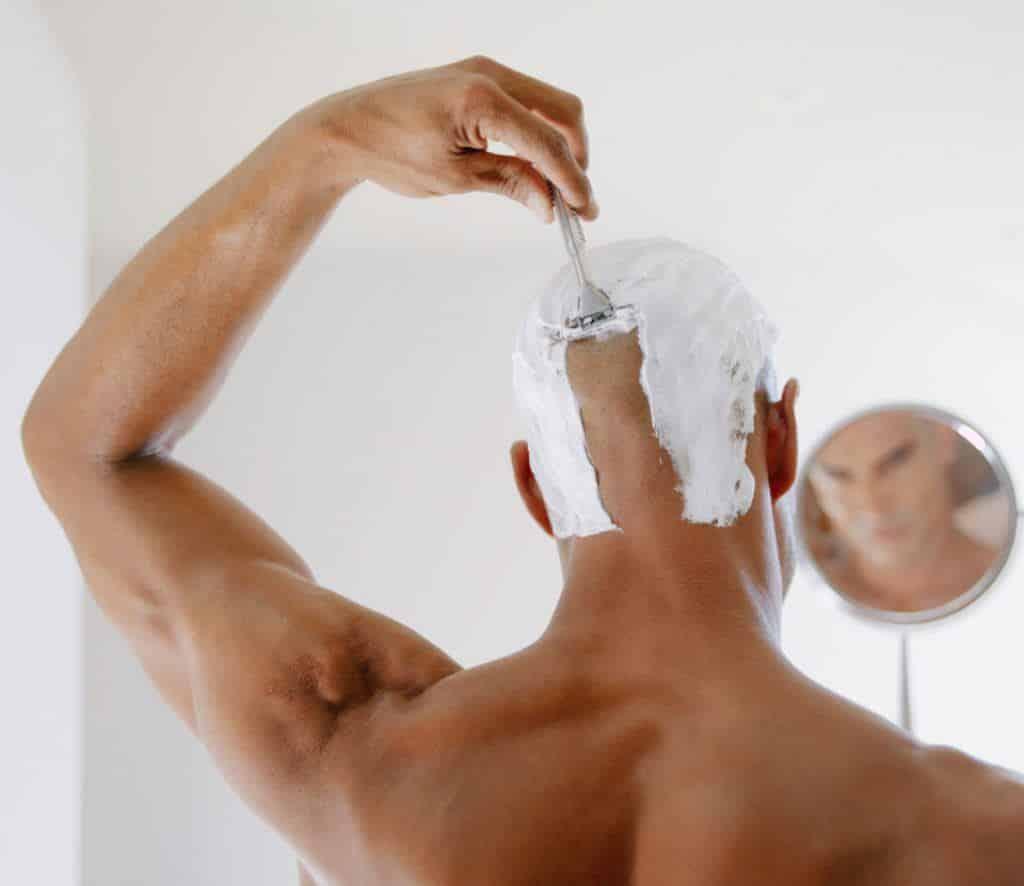 hoofd kaal scheren tips