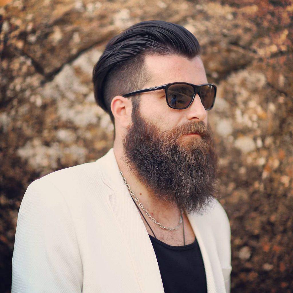 baardstijl volle baard