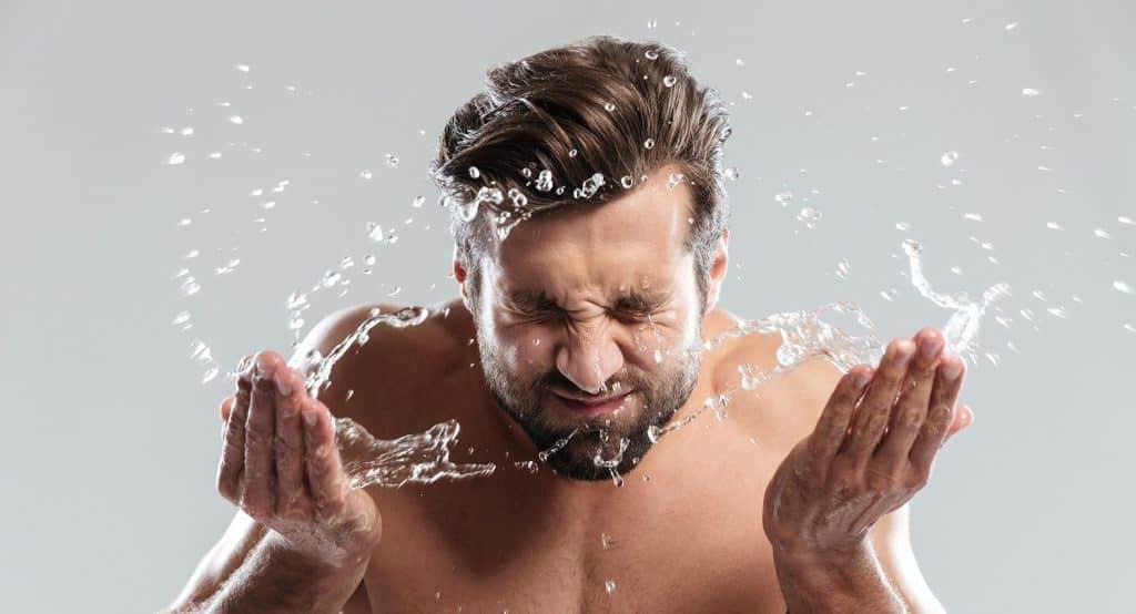 scheren tijdens het douchen