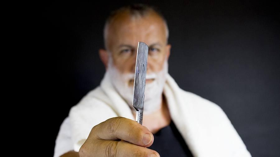 Irritatie tijdens scheren voorkomen open scheermes