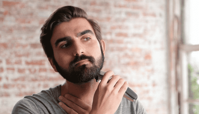 middellange baard trimmen