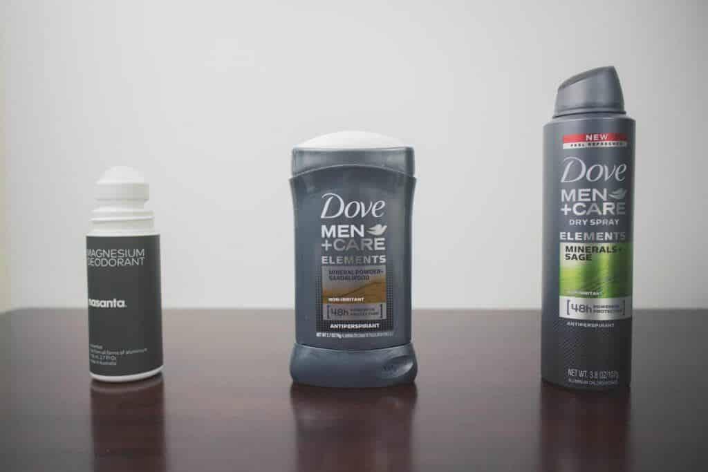 Producten tegen okselzweet