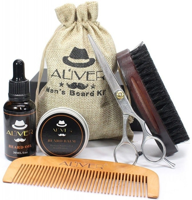 aliver baard set